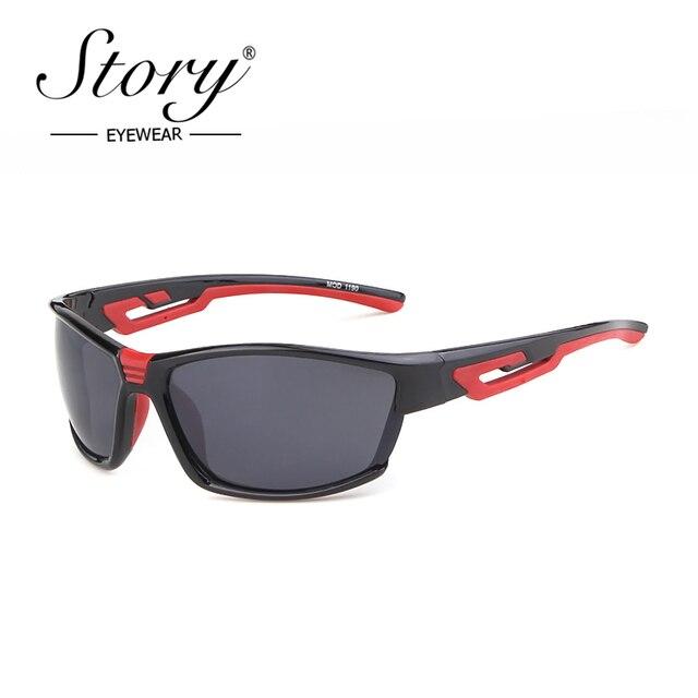 678ff9a4c82f6 STORY fashion square sunglasses men 2019 brand designer classics outdoor sport  eyewear goggle male driver shades