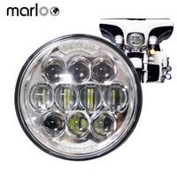 Marloo Motorcycle 5 3 4 5 75 Daymaker LED Headlight For Harley Davidson 883 Sportster Triple