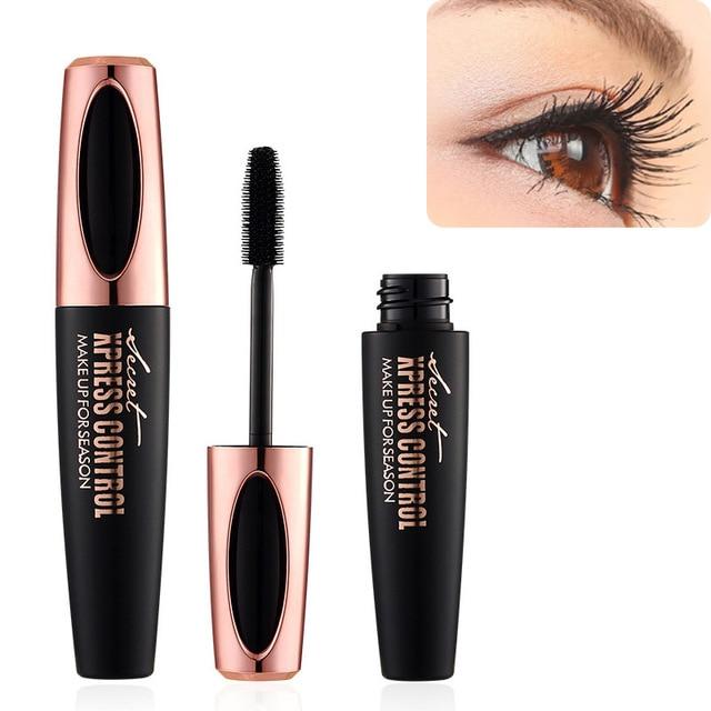 e12460f905c New 4D Silk Fiber Lash Mascara Waterproof Rimel 3d Mascara For Eyelash  Extension Black Thick Lengthening Eye Lashes Cosme YF2018