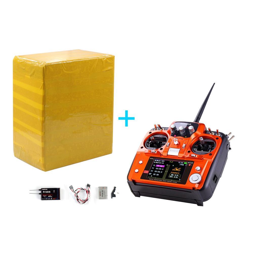 Radiolink at10 ii r12ds 수신기가있는 2.4 ghz 12ch rc 송신기 rc quadcopte 용 PRM 01 전압 리턴 모듈 배터리-에서부품 & 액세서리부터 완구 & 취미 의  그룹 1
