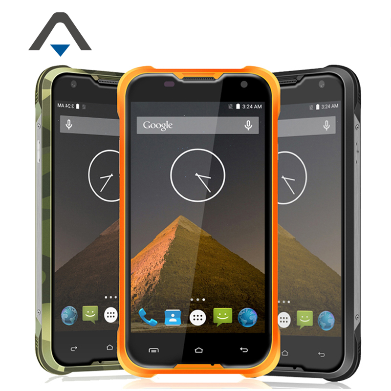 """Original Blackview BV5000 LTE 4G IP67 Waterproof Mobile Cell Phone MTK6735 5.0"""" Android 5.1 Quad Core 8MP 2GB RAM 16GB ROM Stock"""