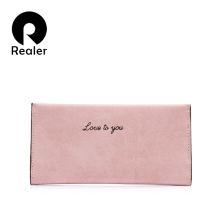 Realer women wallets and purses women bag Gray/Pink/Black fa