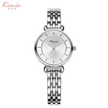 Famosa Marca de Moda de los hombres Relojes 2016 Reloj de Las Mujeres Del Trébol de Acero Inoxidable Pulsera de Cuarzo Para Las Mujeres Montre Femme