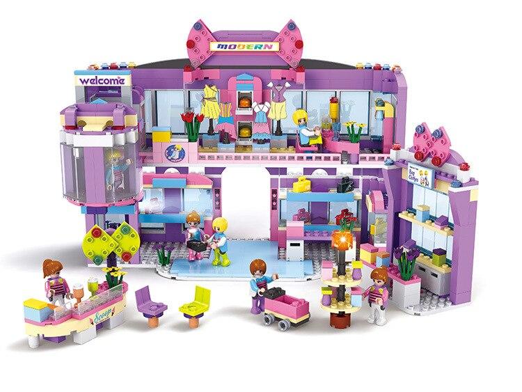 New Friends series COGO shopping mall 810 pcs Building