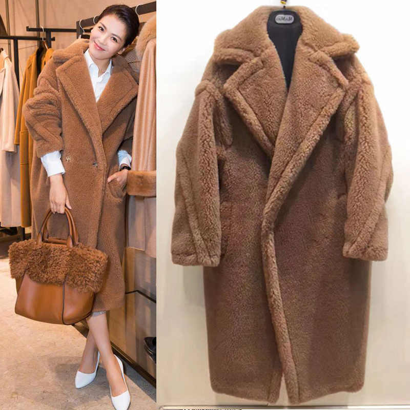 Teddy Cocoon Jas.Detail Feedback Questions About Ship Now Fake Fur Thick Warm Curly