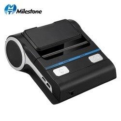 Impresora térmica de recibos Bluetooth de 80mm Milestone, impresora de recibos Android, MHT-P8001 para impresora térmica de pequeñas empresas