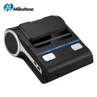 Milestone 80mm Bluetooth pos printer Android Receipt Bill Printer Machine MHT P8001 for Small Business Thermal printer