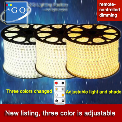 FEDEX DHL  (180leds/meter)  3 colors  change by controller 2835 led strip LIGHT 110v 120v 130v 220V 230v 240v бра leds c4 torino 05 4695 y2 82 pan 175 by