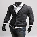 Men's Fashion Casual Slim V-neck Cardigan Sweater Men's Polo Sweaters Knitted Apparel Men's Sweater Cardigan Jacket