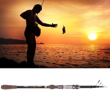 Telescopic Fishing Rod Saltwater Stainless Steel Light Weight Fishing Pole Carp Fishing Lure Rod Hard Bait Casting Rod