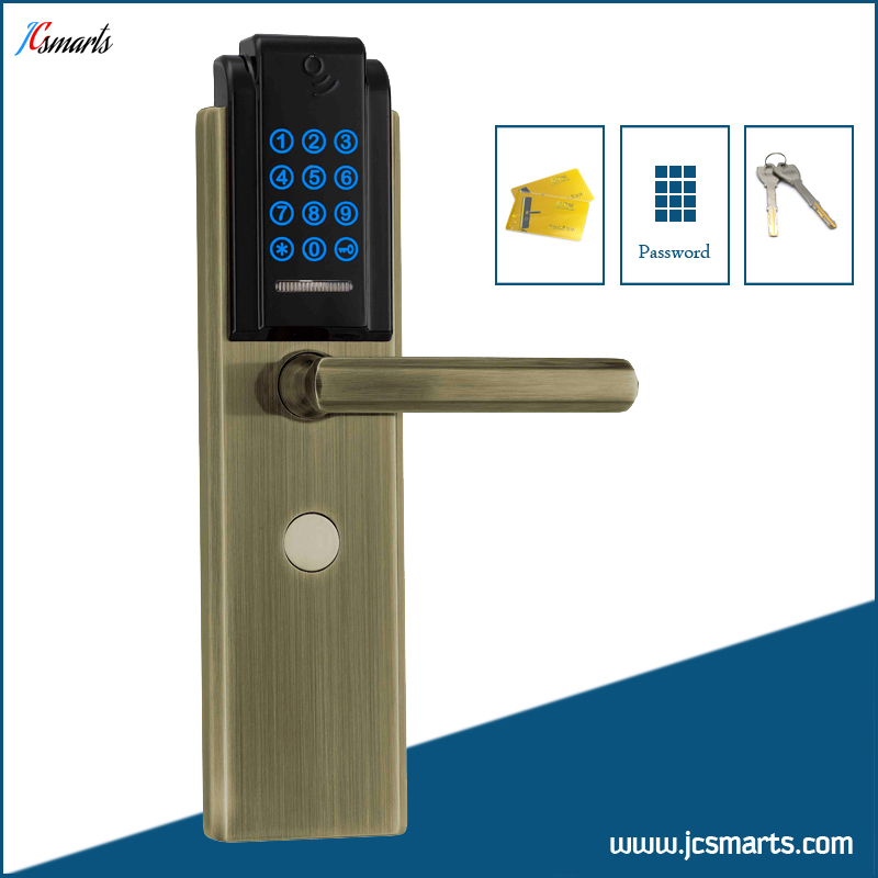 Residential security keypad door lock digital combination door lock with password access control