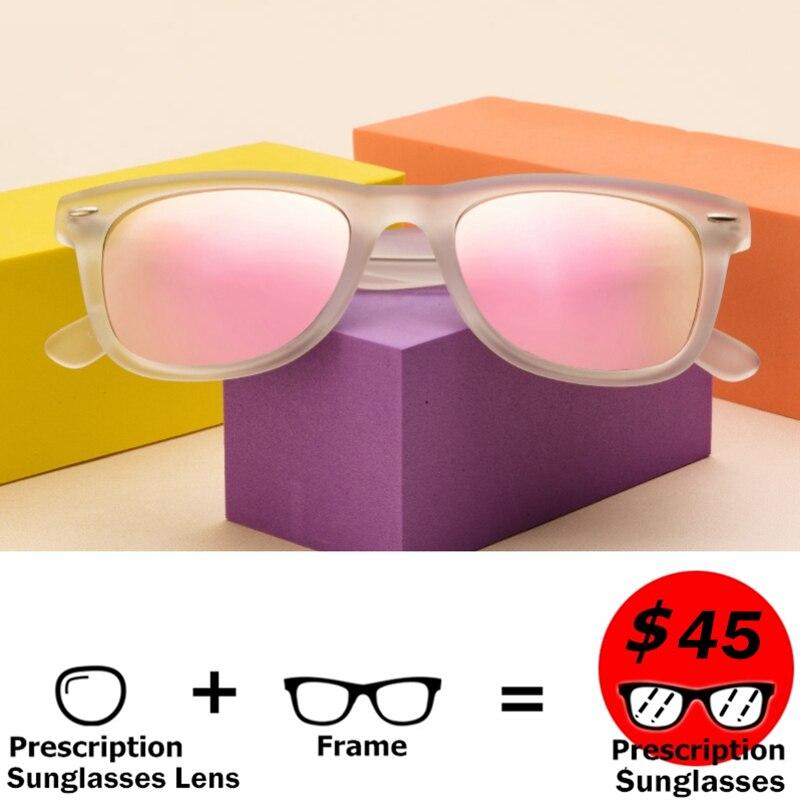 Langford myopia sunglasses Casual square sunglasses prescription men polarized sunglasses for women Transparent sunglasses