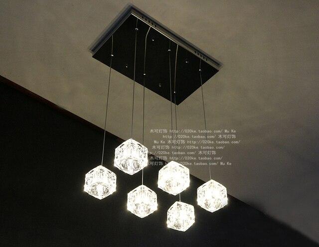 Moderno led k9 lampadari led led lustre luce led ristorante