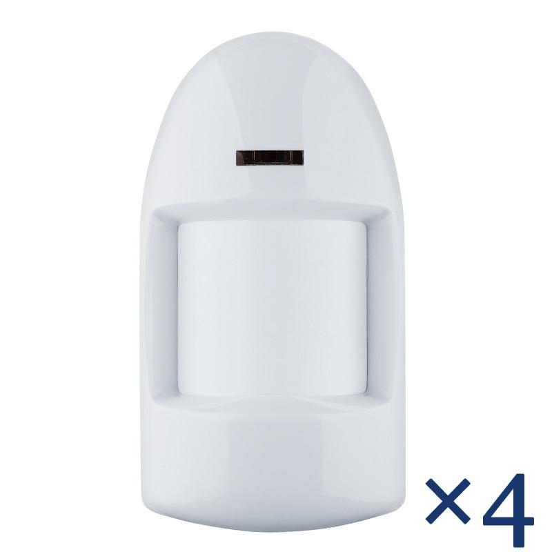 ФОТО Free Shipping  Wired PIR Motion Sensor Detector 12V Input Temper function 4pcs