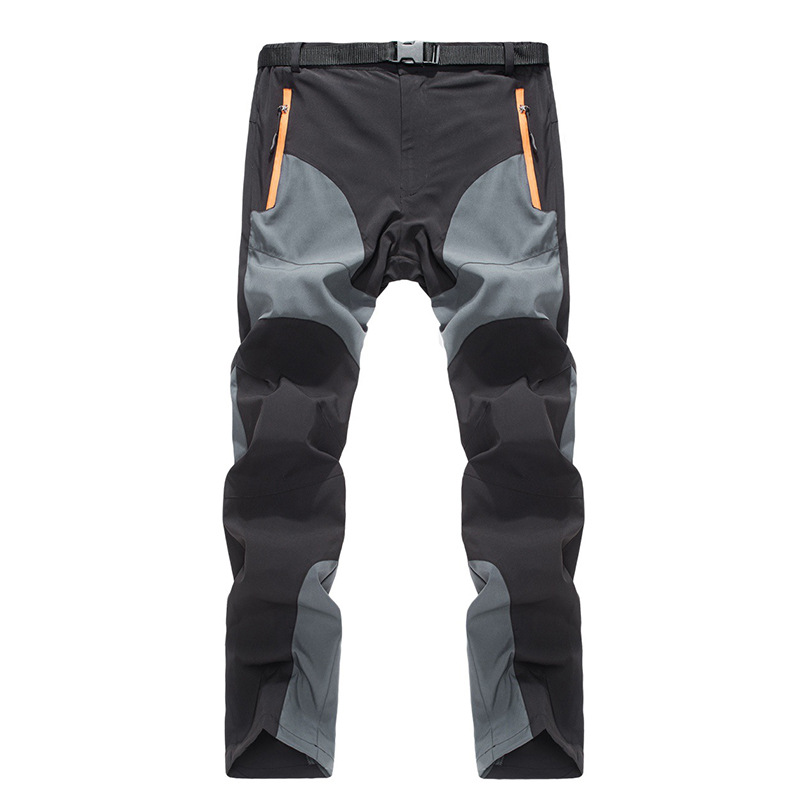 New Quick Dry Hiking Pants Outdoor Men Thin Running Riding Pants Breathable Waterproof Windproof Spring Summer Equipment 8909 mens breathable quick dry hiking pants ripstop tactical pants waterproof fast dry multi pockets summer sports riding pants