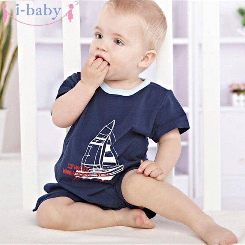 I-baby Baby Romper Pasgeboren Kleding Jongen Meisje Rompertjes 100% - Babykleding