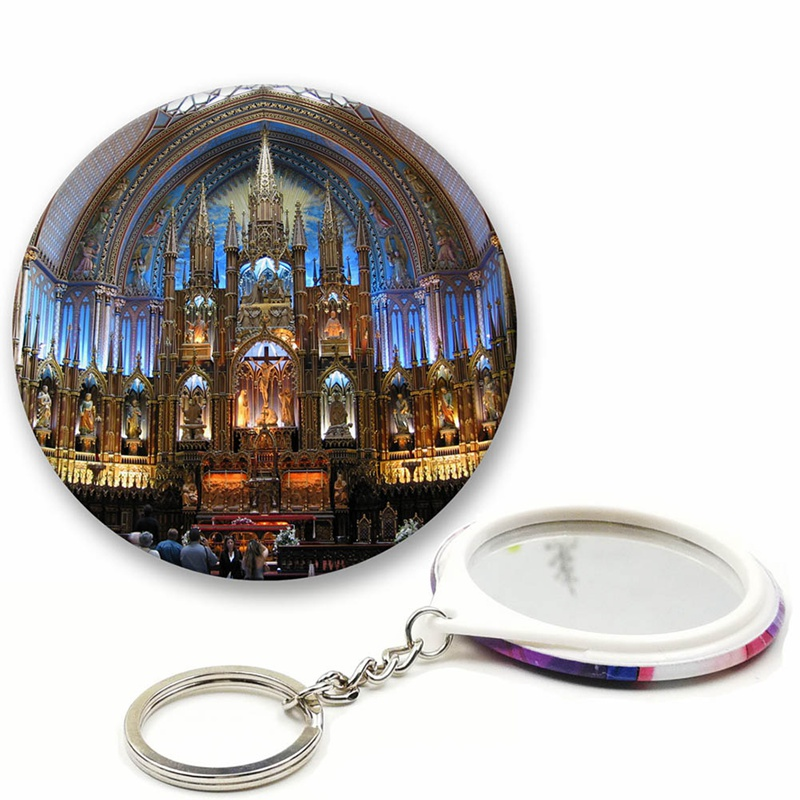 1 Pc Pin Kathedrale Notre Dame Brosche Stained Weißblech Abzeichen Retro Pin Kleidung Zubehör Souvenir Muttertag Geschenk