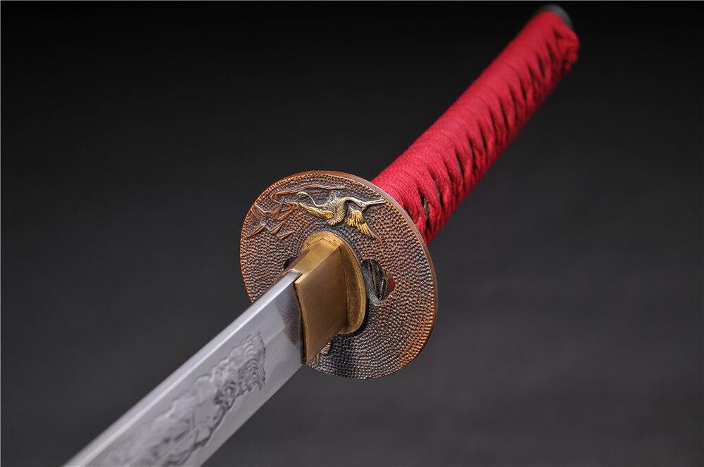 ձեռագործ samurai ճապոնական swords katana - Տնային դեկոր - Լուսանկար 2