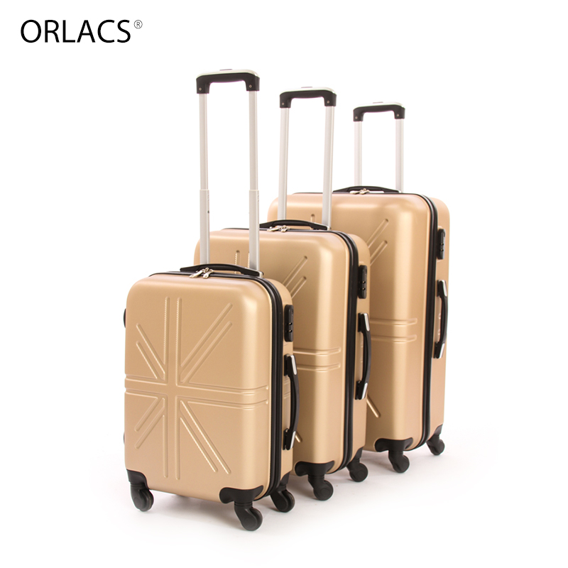 ORLACS Designer Trolley Suitcases Men Fashion Metal Rolling Luggage Women Travel Case Family Suit Multiple Colour Hot Selling