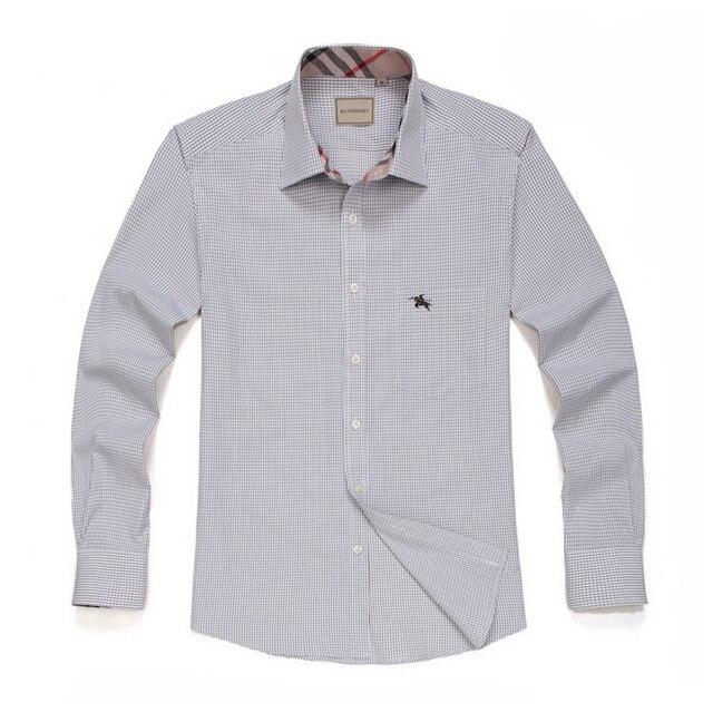 Мужская бизнес-рубашка мужская с длинными рукавами рубашки модальные