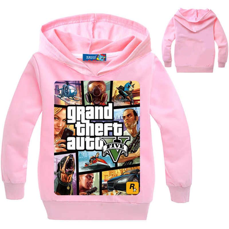 aadb4c819ea8 ... Топы для мальчиков, одежда, GTA 5, толстовки, Gta Street спортивные  костюмы для ...