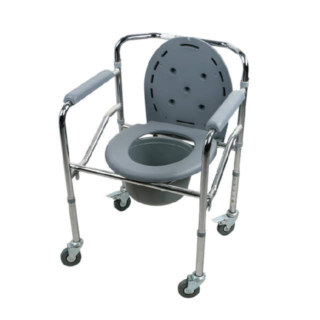 High Quality New Design Steel Adjustable Commode Chair Folding ...