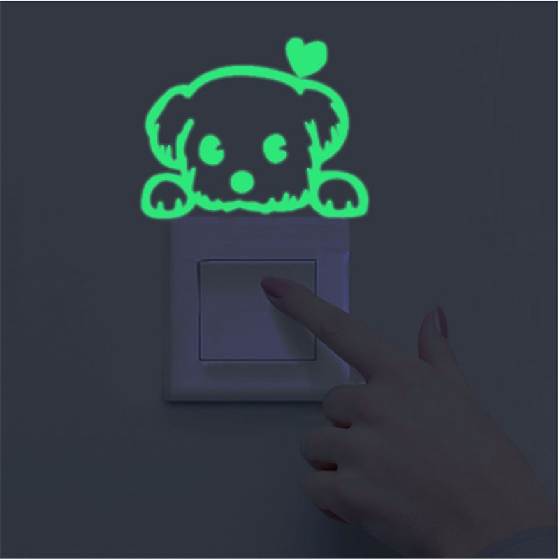 Luminous Stickers Sleepy Cat/Star Moon Glow in the Dark DIY Switch Sticker Luminous Stickers Sleepy Cat/Star Moon Glow in the Dark DIY Switch Sticker HTB1c6OHOXXXXXcpXVXXq6xXFXXXT