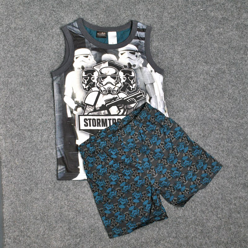 STRIVE LUCK Kids clothes boy clothing children set girls clothing top and pants Childrens Sports Suits shorts summer boys suit