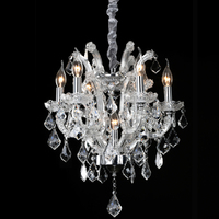 Chandelier Crystal Modern LED Dining Light Lustres De Cristal Luxury Chandelier Lamp Russia Home Lighting With