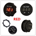 Cheap Price WATERPROOF Voltmeter 12-24V DC LED Digital Display Vm Universal for Automobiles Motorcycle Truck Boat Red