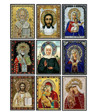 Diy 5d diamond painting religious crystal mosaic picture embroidery pattern handmade new year gift