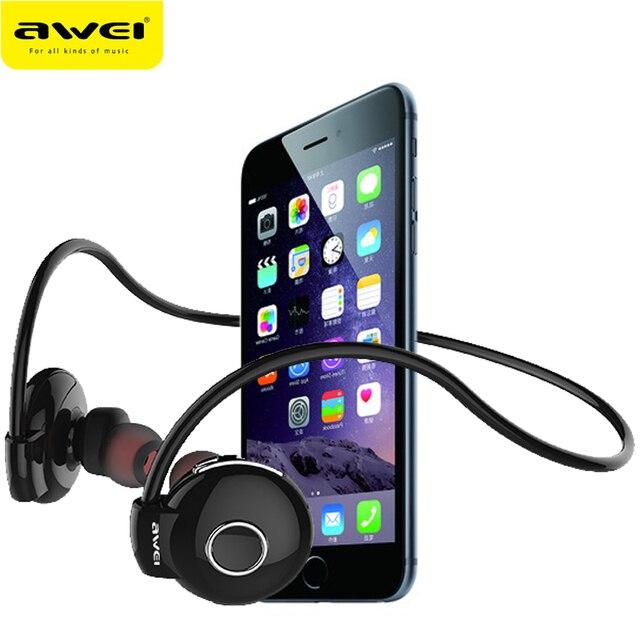 Awei A845BL Bluetooth Headphones Stereo Earphone Wireless fone de ouvido Neckband Sport Headset Auriculares Audifonos Kulakl k