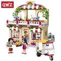 QWZ 299 unids 2017 NUEVA LEPIN 01011 Parque De Atracciones Odisea del Espacio Modelo Building Blocks Ladrillos Compatible Juguete Para Niñas Cumpleaños regalo