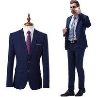 The New Fashion Trend In Urban Han Edition 2017 British Wind Gentleman Suit Suit Men S