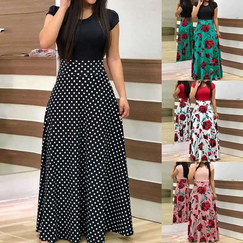 Laamei 2019 Women Dress Boho Print Sexy Vintage Female Floral Pencil Dresses Evening Party Dress Bodycon Package Hip Vestidos