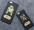 Nueva Llegada de Star wars: la fuerza despierta style case para iphone6 6 s anakin skywalker stormtrooper estilo impresión case para iphone7