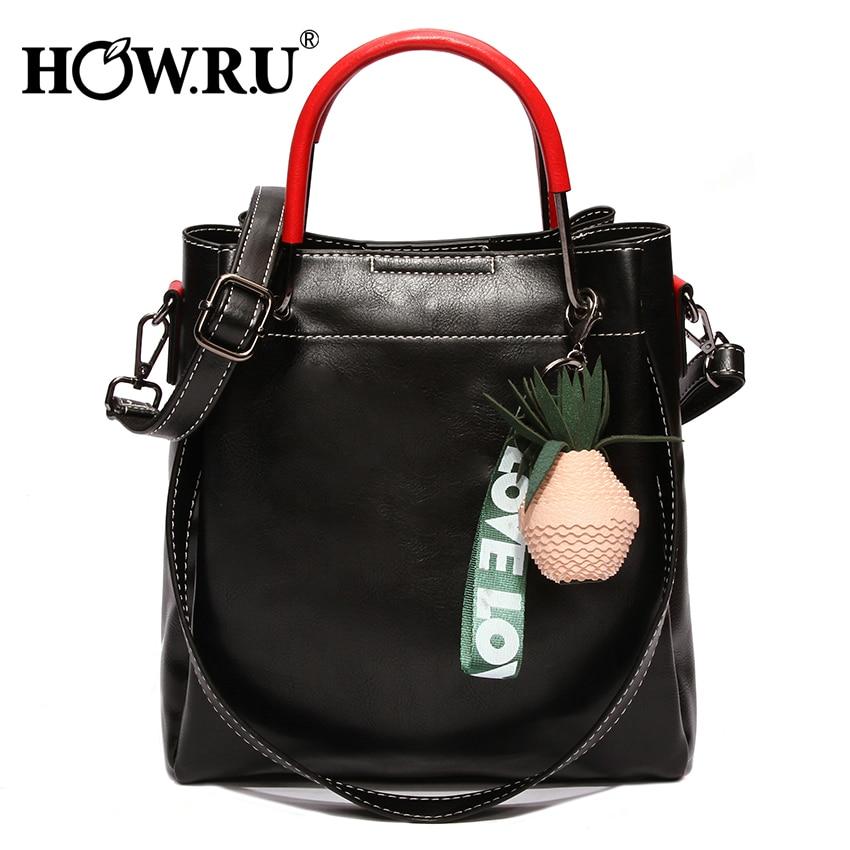 Women Pineapple Shape Shoulder Bags Messenger Tote Cross Body Bag Handbag Purse