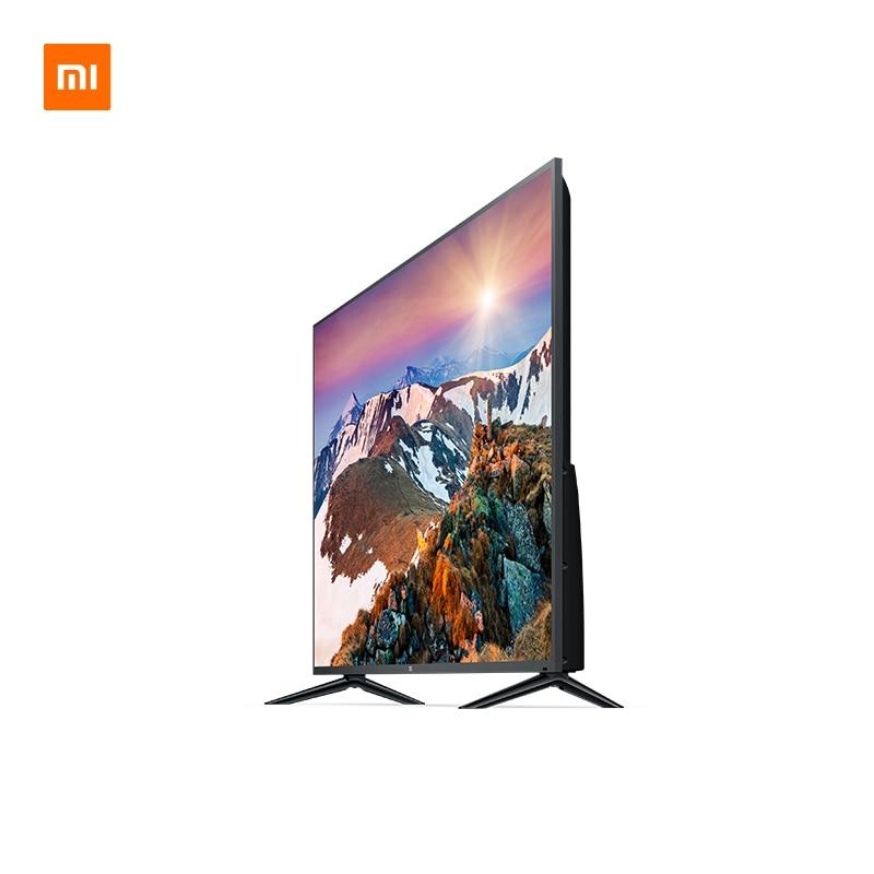 Télévision Xiao mi mi TV 4S 50 pouces 4K QFHD HDR écran TV ensemble WIFI 2GB + 8GB DOLBY AUDIO Android Smart TV | support mural cadeau - 2