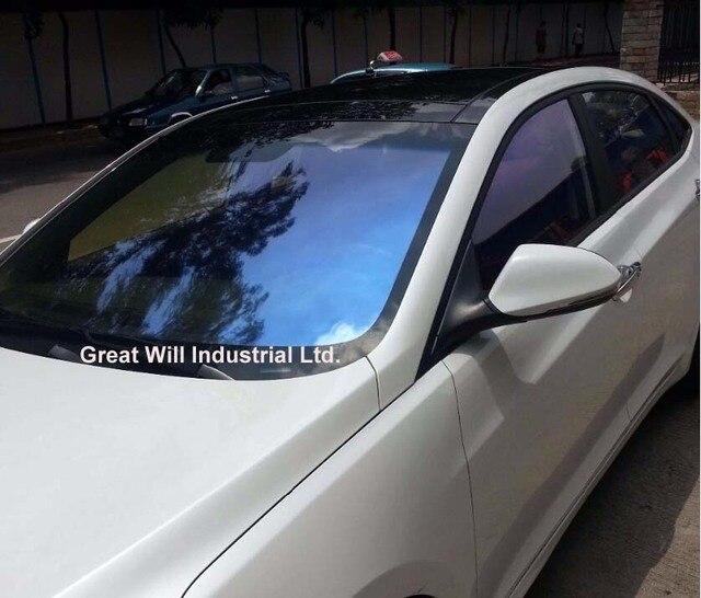 automobile windshield solar chameleon window film tinting. Black Bedroom Furniture Sets. Home Design Ideas