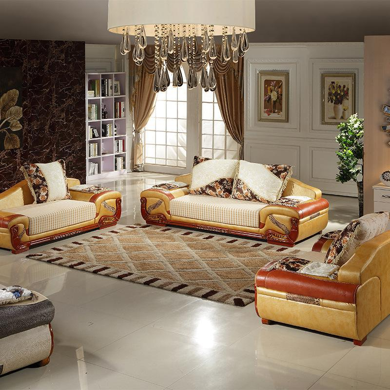 2015New Arrive Solid Wood Furniture Sofa Seats,Living Room European Style Sofa  Sets,Custom ... Part 93