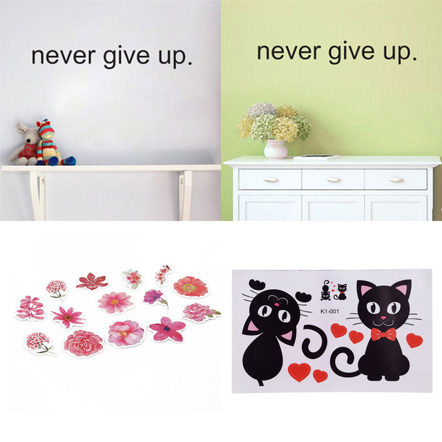 High Quality Creative Refrigerator Black Sticker Funny Wall Sticker for Kids Room Wall Decals Home Decoration On the Wall
