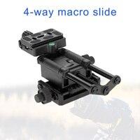 High Quality 4 Way Macro Focusing Rail Slider for Canon Nikon SLR Camera