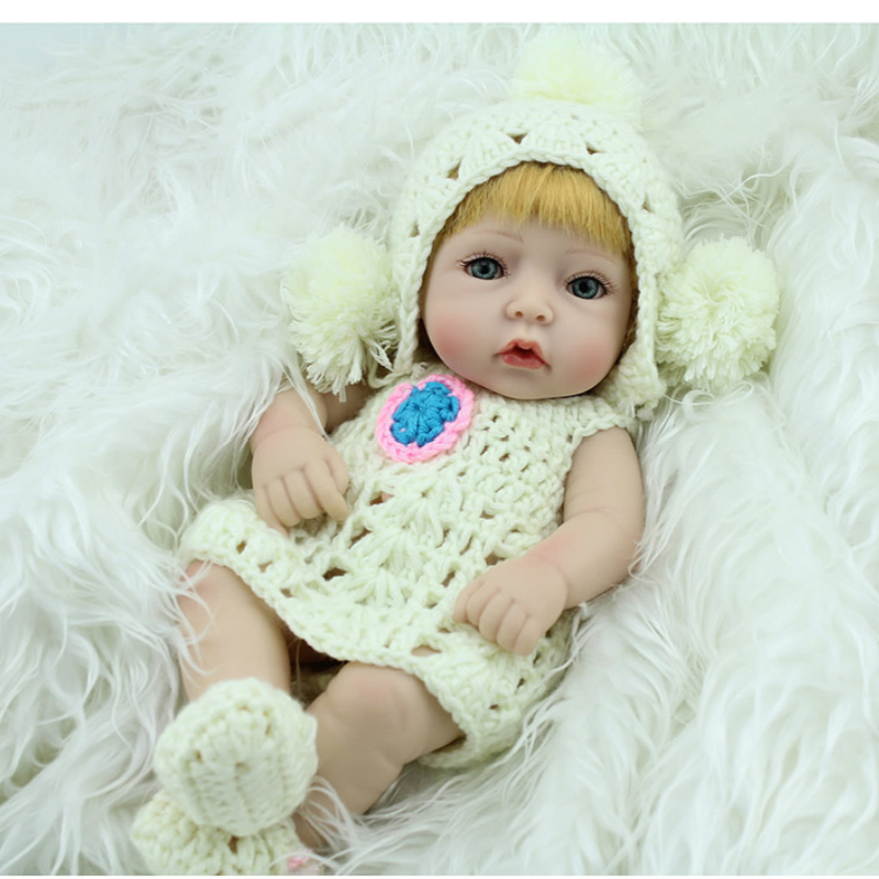 Colle douce Reborn poupée Simulation Reborn bébé enfants jouer maison jouet bébé Promotion de la santé enfant en bas âge enseignant aide pédagogique aussi