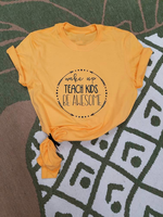 Милый Забавный слоган, женская мода, топы для девочек 90 лет, хлопковые красивые футболки, гранж, художественная футболка, Wake Up Teach Kids Be красив...