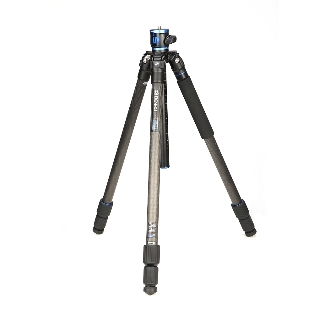 BENRO Multi function Profeesional Digital Camera Tripod 360 Pan Rotation Tripod For Digital Cameras GC269T in Tripods from Consumer Electronics