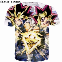 Newest Men Women Summer Funny Anime t shirts Games Yu Gi Oh Monster 3D t shirt Duel Monsters Characters MUTO YUGI tees tshirts classic game anime yu gi oh zexal official card game king of games yugi muto s dark magician girl sex 18cm action figure