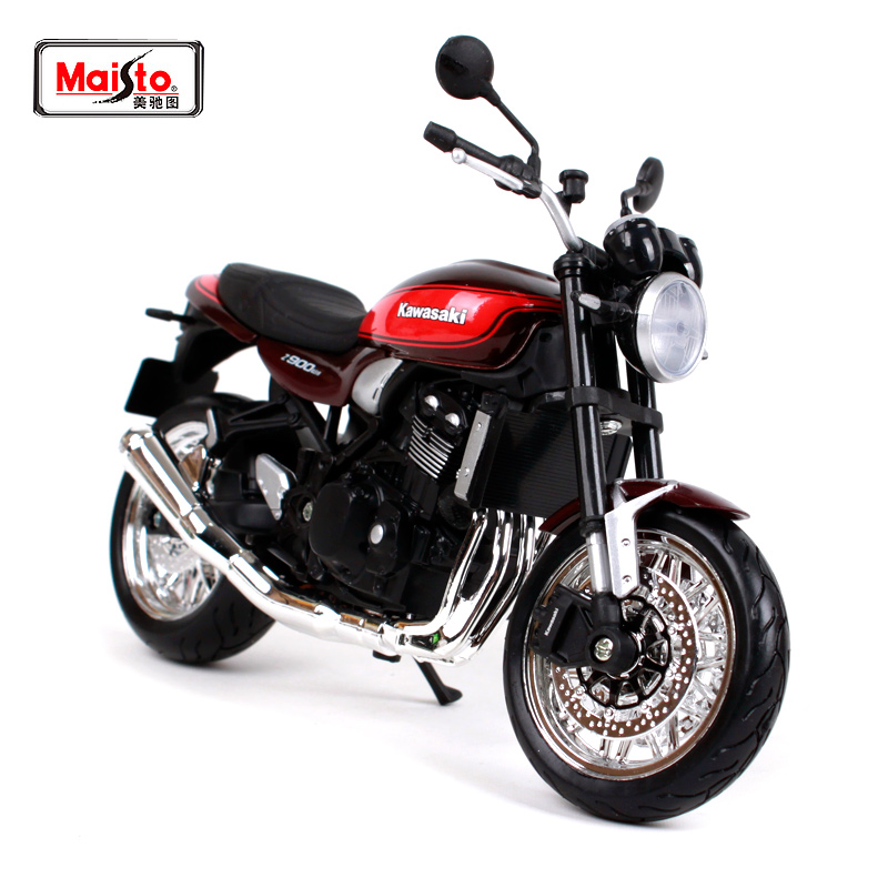 US $17 94 18% OFF|Maisto 1:12 2019 Kawasaki Z900 RS Red wine Black  MOTORCYCLE BIKE Model FREE SHIPPING NEW ARRIVA 18990-in Diecasts & Toy  Vehicles