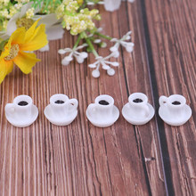 New 5Pcs/lot Kitchen Doll Accessories Dollhouse Miniature Coffee Cup For Kitchen Room Food Drink Home Tableware Decors(China)