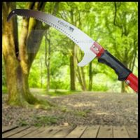 Multi function hand saw high branch cut garden waist saw high altitude fruit tree flower wood pruning saw(without rod)