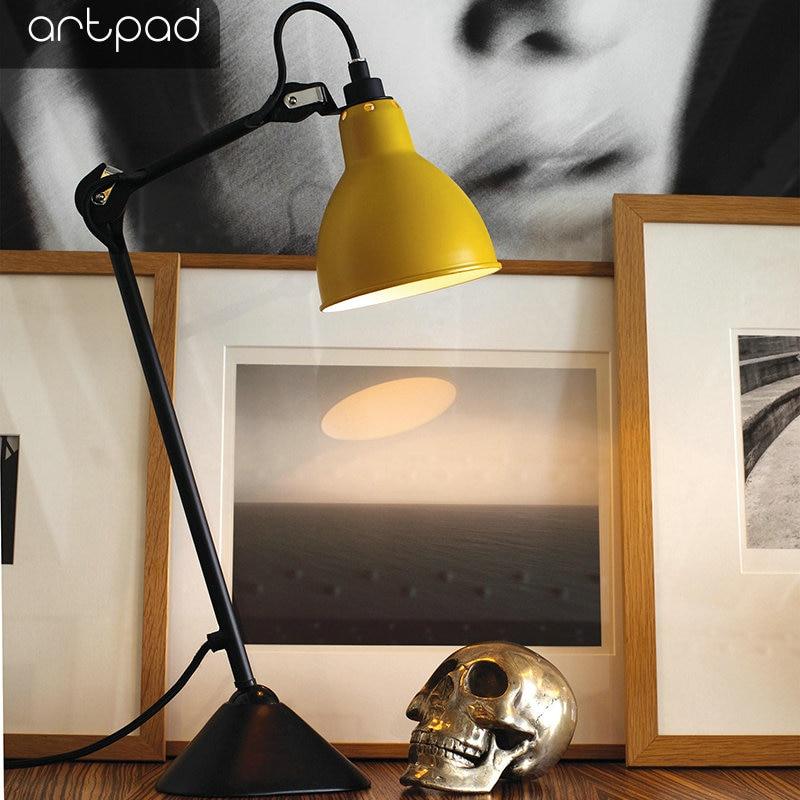 Bozz'art Américain Industrielle vêtements de protection Avec Interrupteur Soins Oculaires Designe lampe de bureau Étude de Bureau Hôtel table de chambre Lumière Accueil Mobilier